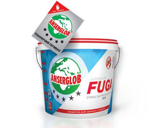 Затирочная смесь эластичная Fuga 1 кг Горчица 106
