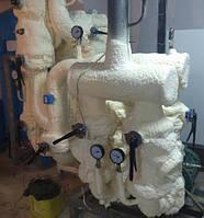 Теплоизоляция оборудования пенополиуретаном