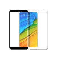 Закаленное защитное 5D стекло ПОЛНАЯ ПРОКЛЕЙКА (на весь экран) для Xiaomi Redmi Note 7 (выбор цвета)