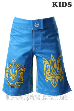 Шорты BERSERK HETMAN KIDS blue
