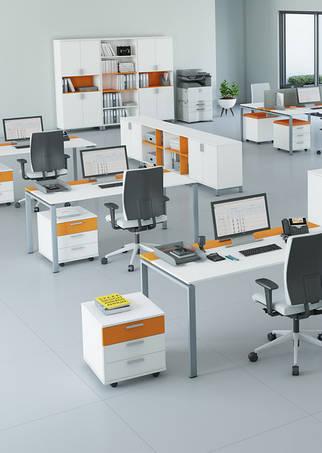 Серия мебели для офиса Trio