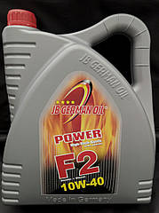 JB German Oil Power F2 SAE 10W-40 Полусинтетическое моторное масло (4л)