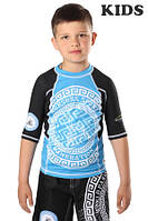 Рашгард BERSERK for pankration APPROVED WPC KIDS blue, фото 1