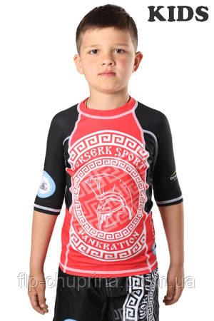 Рашгард BERSERK for pankration APPROVED WPC KIDS red
