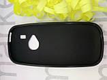 Чохол для Nokia N3310 (чорний силікон), фото 2