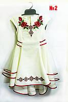 Красивое платье -вышиванка для девочки