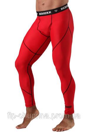 Компрессионные штаны BERSERK DYNAMIC red