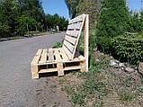 Диван из поддонов, мебель из паллет, фото 2
