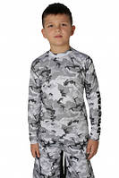 Рашгард BERSERK CAMO KIDS grey, фото 1