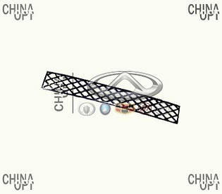 Решетка бампера центральная, Great Wall Hover [H2,2.4], 2803306-K00, Aftermarket