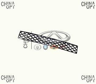 Решетка бампера переднего центральная, Great Wall Hover [H2,2.4], 2803306-K00, Aftermarket