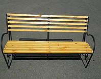 Лавочка/скамейка парковая с быльцами усиленная