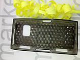 Чохол для Nokia X6 (силікон чорний принт), фото 2
