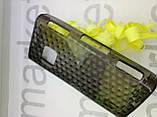 Чохол для Nokia X6 (силікон чорний принт), фото 3