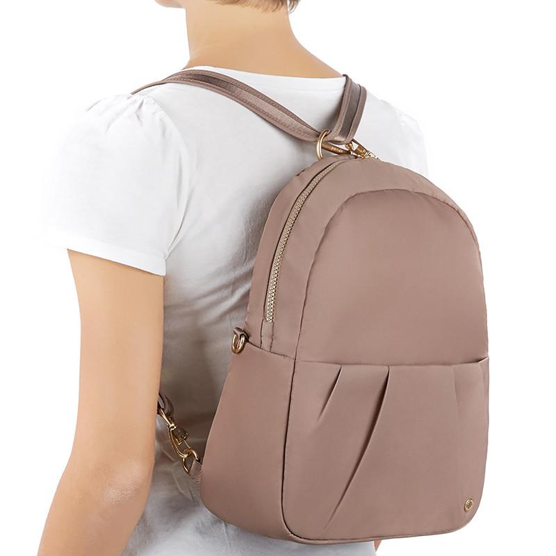 """Жіночий рюкзак трансформер """"антизлодій"""" Citysafe від Pacsafe, 6 ступенів, під нанесення логотипів, фото 1"""