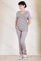 Блуза трикотажная 7003-132/2-236 полубатал от производителя Украина