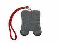 Массажер из камня для позвоночника точечный двойной
