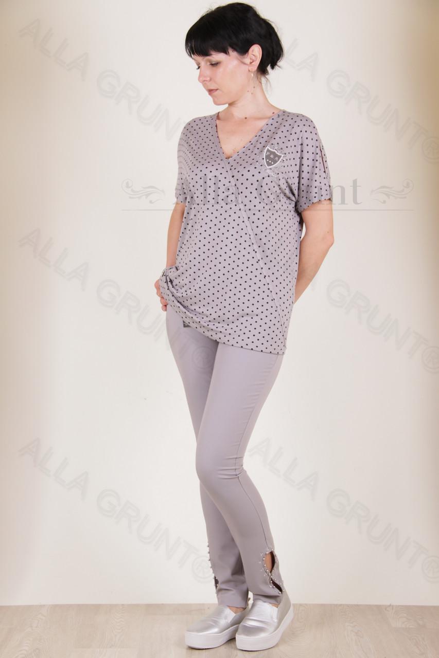 Блуза трикотажная 7006-132/2-236 полубатал от производителя Украина