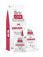Brit Care Endurance сухой корм для активных собак всех пород Утка и рис 12 кг