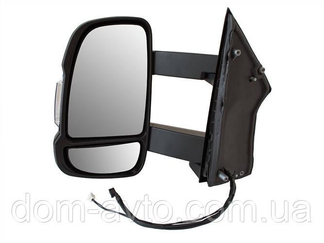 Зеркало в сборе электро длинное Ducato Boxer Jumper 06