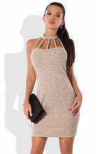 Трикотажне плаття в комплекті з кардіганом Д-1261