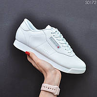 Кроссовки женские в стиле Reebok Princess код товара EL-0172. Белые