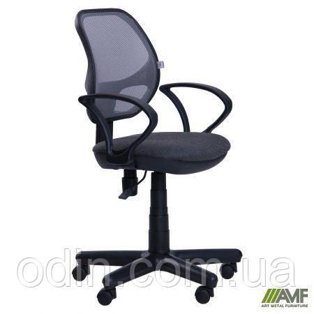 Кресло Чат/АМФ-4 сиденье А-14/спинка Сетка серая 025657