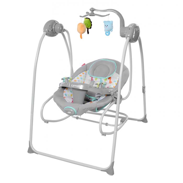 Кресло-качалка CARRELLO Molle CRL-10301 Grey