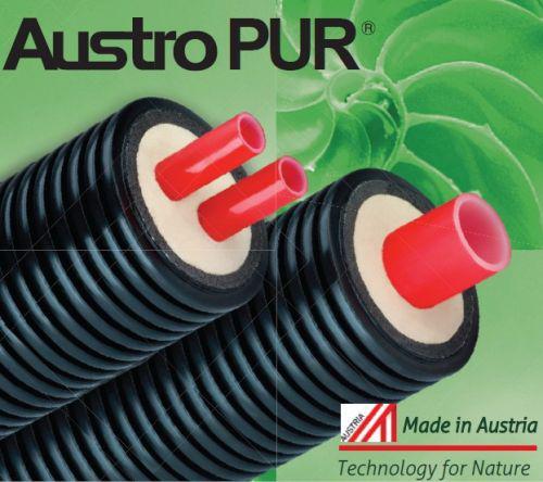Попередньоізольовані труби AustroPUR