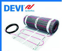 Теплый пол Нагревательный мат под кафель Devimat DTIR-150 (двужильный) 12,0 m² 1800W