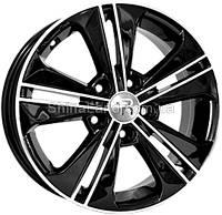 Литые диски Replay Hyundai HND224 6x16 5x114,3 ET43 dia67,1 (BKF)