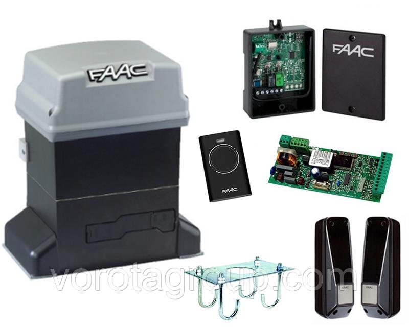Автоматика для откатных ворот Faac 746ER (комплект) для ворот до 600кг