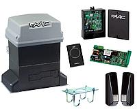Автоматика для откатных ворот Faac 746ER (комплект) для ворот до 600кг, фото 1