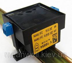 Трансформаторна DIN рейку 15ВА, 230/24В, AC, V16854
