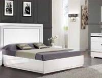 Кровать 1600х2000 Венеция СлонимМебель Белая