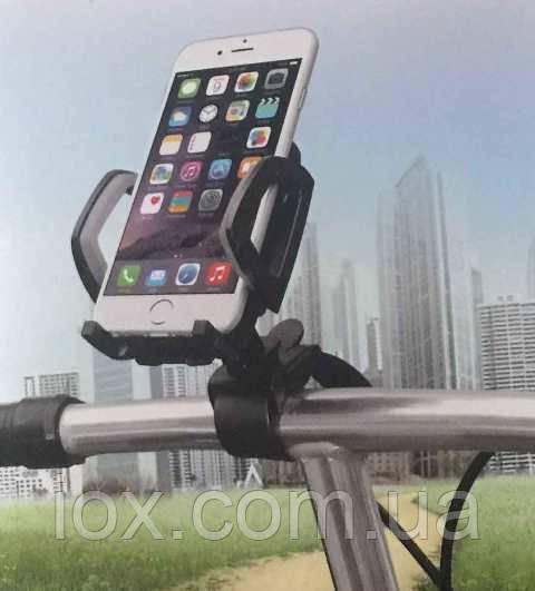 Универсальный холдер-держатель для телефонов на руль веолосипеда