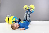 Домашние тапочки игрушки миньоны, Тапки домашние унисекс, размер свободный