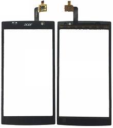 Тачскрин для Acer Z500 Liquid Dual Sim, черный Оригинал (тестирован)
