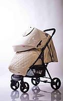 Детская прогулочная коляска Quattro Porte QP-234 Biege