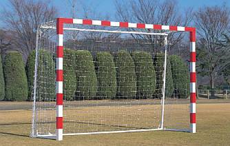 Профессиональная сетка для мини-футбола, гандбола: глубина  0,8 і 1 м.; шнур 4,5 мм. (Польша)