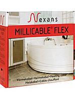 Двужильный тонкий кабель в слой плиточного клея Millicable Flex 15 1500W. Площадь укладки 10,0м2