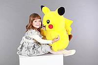 Мягкая игрушка Покемон Пикачу ( Pikachu), мягкая плюшевая большая игрушка Пикачу 50 см, эксклюзив, фото 1