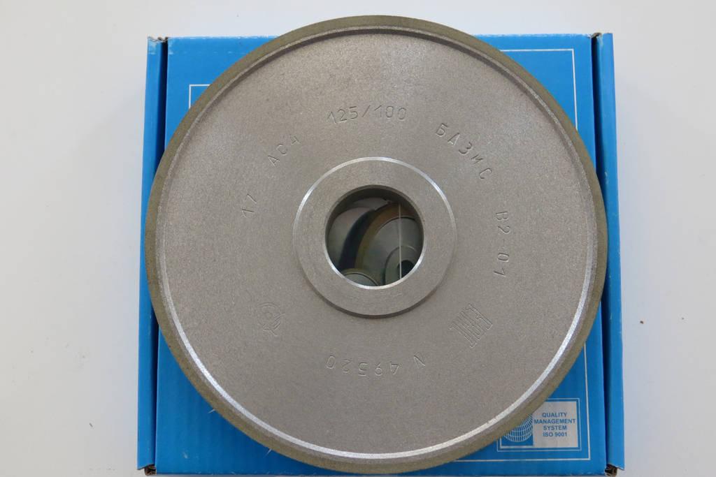 Круги алмазные шлифовальный прямой профиль 150х20х3х32 125\100 1А1 АС4 B2-01  Базис