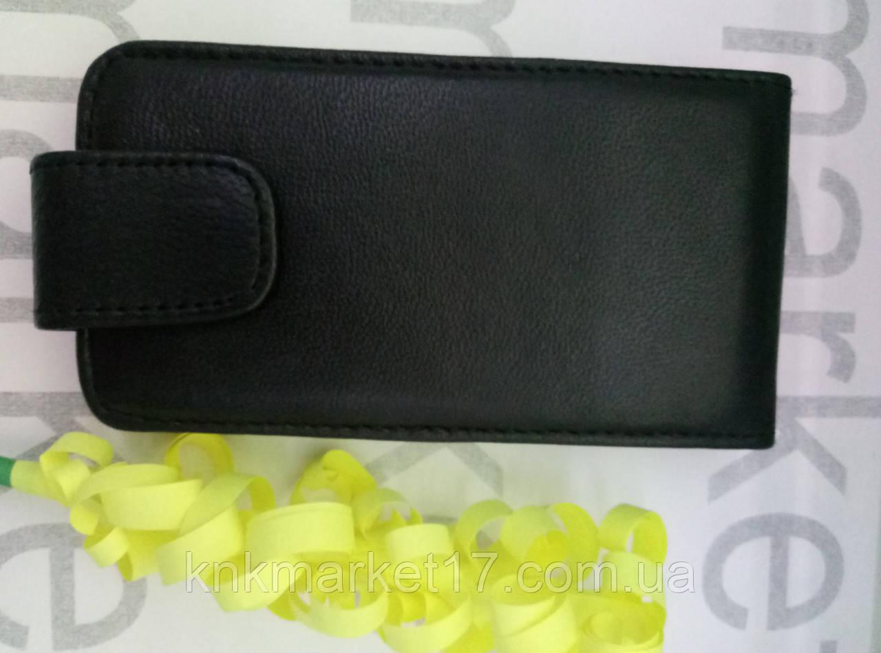 Чохол для Nokia N710 (чорний фліп)