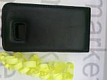 Чохол для Nokia N710 (чорний фліп), фото 2