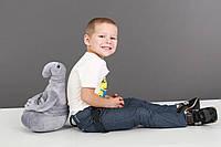 Мягкая игрушка Ждун серый 40 см