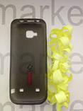 Чехол для Nokia C5  (силикон черный прозрачный), фото 2
