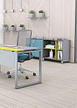 Стол рабочий двухцветный Quattro 1600*700*740h, фото 4