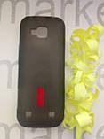 Чехол для Nokia C5  (силикон черный прозрачный), фото 3