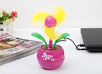 Настольный USB-вентилятор Цветок, фото 1